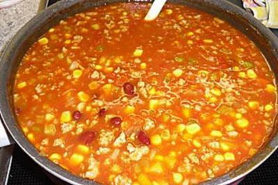 Mexikanische Suppe - Rezept