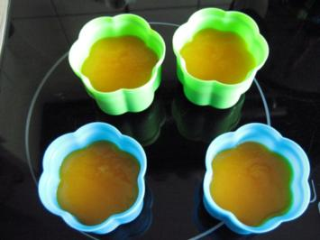 verkehrte Welt - Joghurt-Mango-Dessert - Rezept