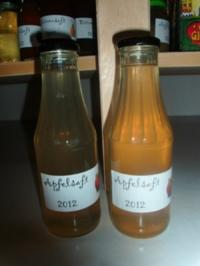 Saft - klarer Apfelsaft - Rezept