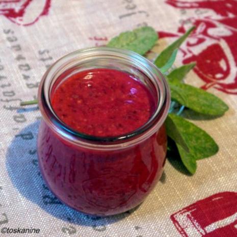Himbeer-Senf-Sauce - Rezept - Bild Nr. 8
