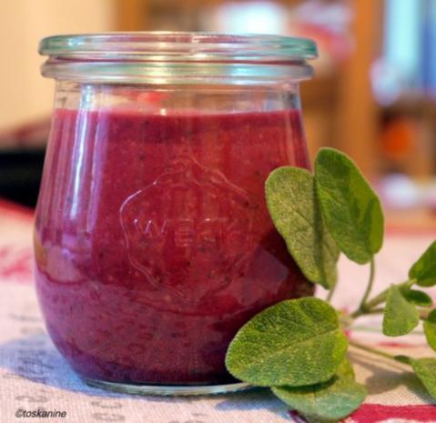 Himbeer-Senf-Sauce - Rezept