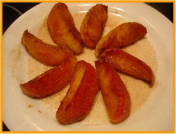 Karamellisierter Apfel - Rezept
