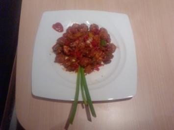 SCHARFE WOOORSCHT - PFANNE - oder -  Bratwurst ganz anders aber lecker und spicy - Rezept