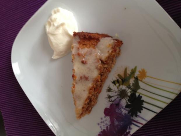 Apfel-Möhren-Kuchen - Rezept - Bild Nr. 2