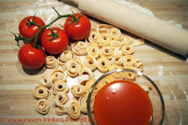 Tomatennudeln - Rezept - Bild Nr. 3