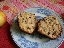 Muffins mit Schokostreusel - Rezept