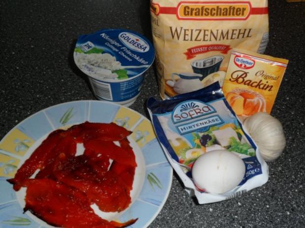 Käse - Paprika - Muffins - Rezept - Bild Nr. 2