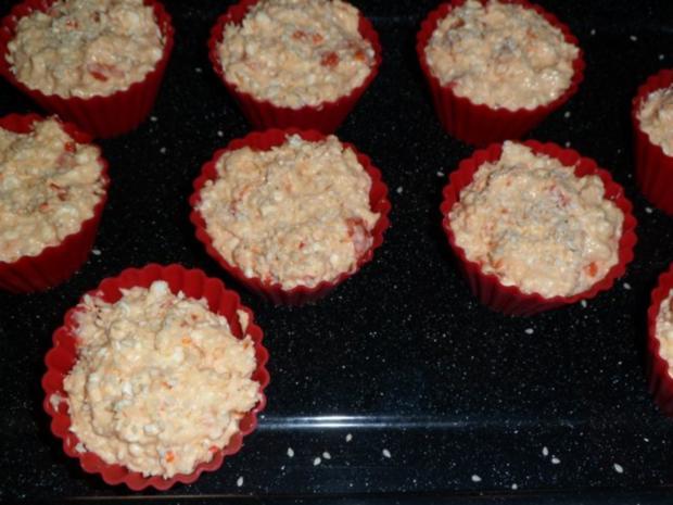 Käse - Paprika - Muffins - Rezept - Bild Nr. 7