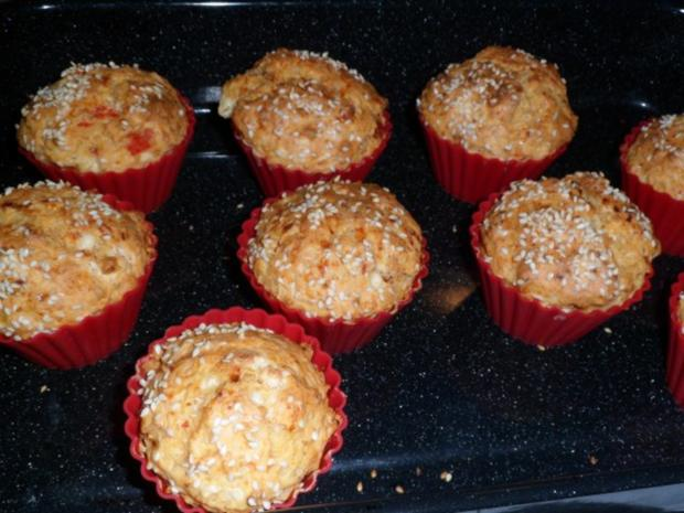 Käse - Paprika - Muffins - Rezept - Bild Nr. 8