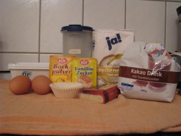Schoko-Muffins mit flüssigem Kern - Rezept - Bild Nr. 2