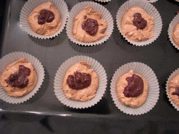 Schoko-Muffins mit flüssigem Kern - Rezept - Bild Nr. 6