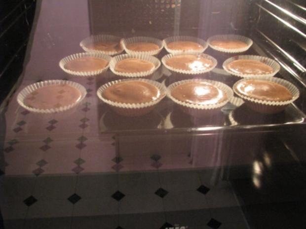 Schoko-Muffins mit flüssigem Kern - Rezept - Bild Nr. 7