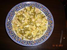 Hähnchenbrust-Bohnen-Kartoffel-Eier-Salat - Rezept
