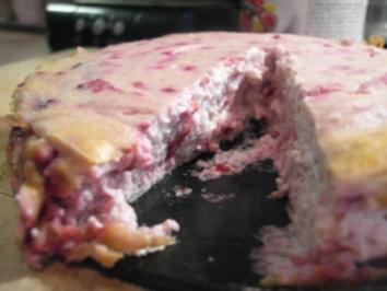 Kuchen: Kleiner feiner (fettarmer) Beeren-Käsekuchen - Rezept
