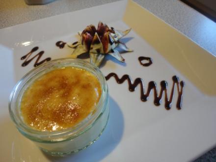 Creme Brulee mit Zitronengras - Rezept