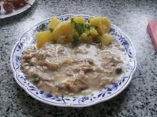 Hühnerfricassee - Rezept