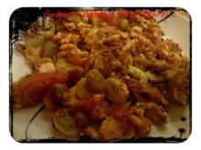 Eier: Pilz-Gemüse-Rührei - Rezept