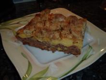 Quitten-Streuselkuchen vom Blech - Rezept
