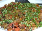 Caponata Siciliana - Gemüse-Olivensalat aus Sizilien - Rezept