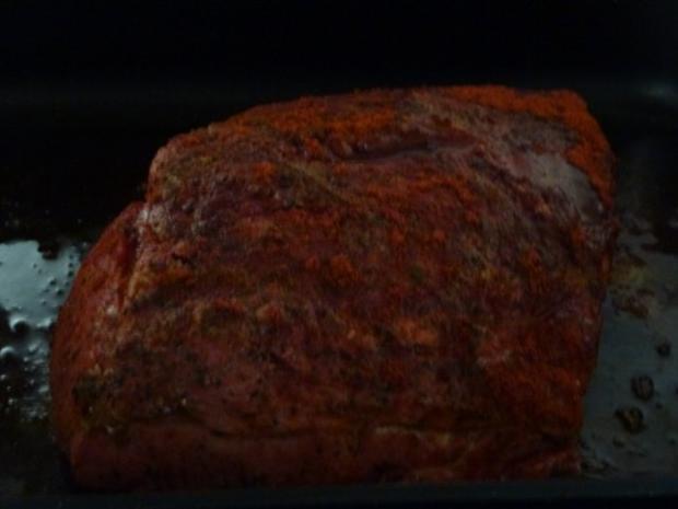 Würziger NT- Knoblauch-Braten für ein Bufett - Rezept - Bild Nr. 6