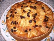 versteckter Apfelkuchen - Rezept