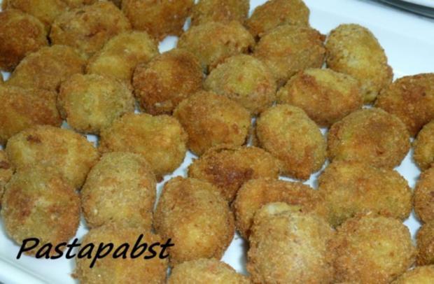 Frittierte gefüllte Oliven - Rezept - Bild Nr. 2