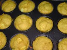 Birnen-Kürbis-Muffins - Rezept