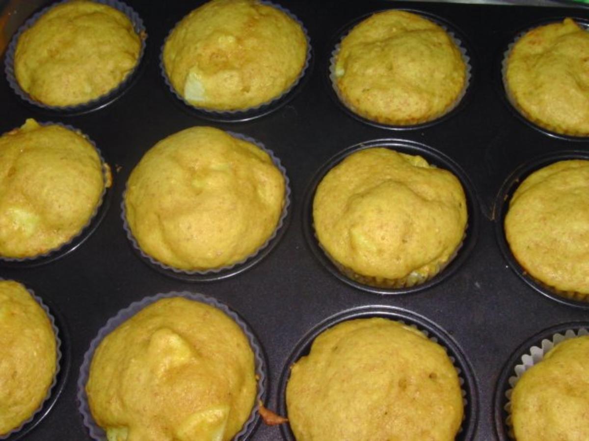 Birnen-Kürbis-Muffins Rezept Eingereicht von mira