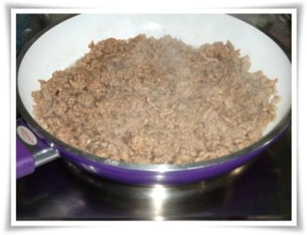 Raffinierte bunte Paprikapfanne  mit Hackfleisch und Reis dazu - Rezept - Bild Nr. 7