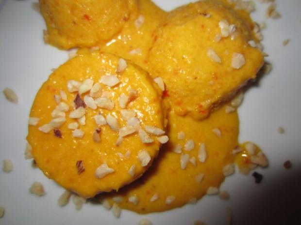 Kürbis-Orangen-Limetten-Eis - Rezept