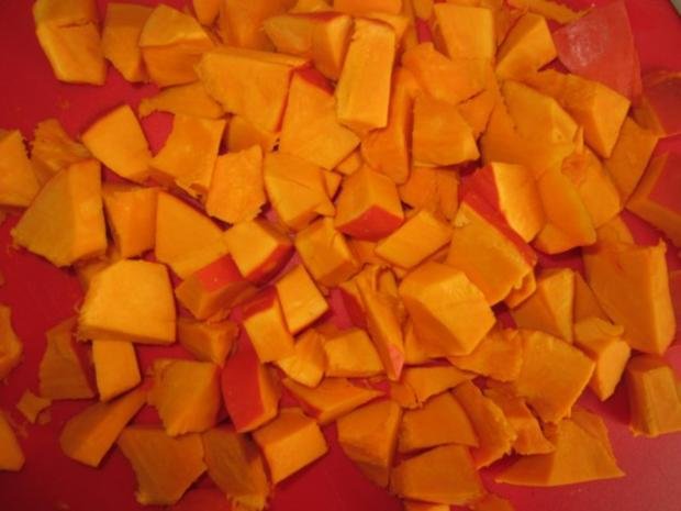 Kürbis-Orangen-Limetten-Eis - Rezept - Bild Nr. 2