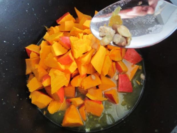 Kürbis-Orangen-Limetten-Eis - Rezept - Bild Nr. 5