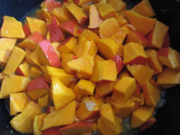 Kürbis-Orangen-Limetten-Eis - Rezept - Bild Nr. 6
