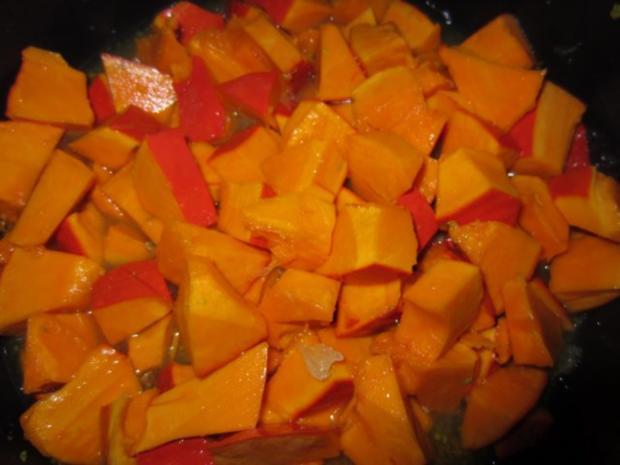 Kürbis-Orangen-Limetten-Eis - Rezept - Bild Nr. 7