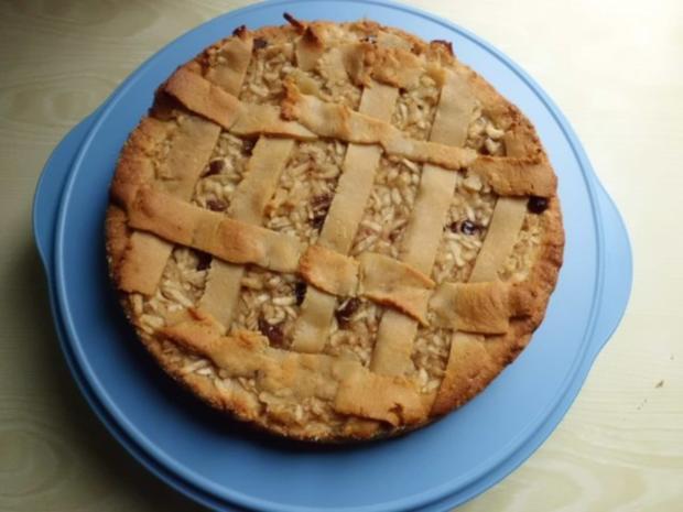 Kuchen: Apfelweinkuchen mit Marzipangitter - Rezept - Bild Nr. 7