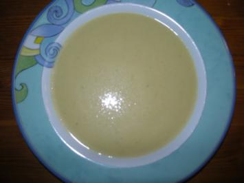 Lauch-Suppe mit Käse - Rezept