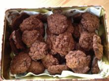 Kekse : Schokokekse mit feinen stückchen - Rezept