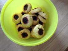 Kekse : Marmeladen-Grübchen - Rezept