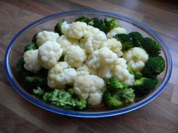 Blumenkohl-Broccoli-Kartoffel Auflauf - Rezept