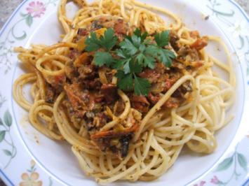 "Soßen: Pasta-Sauce ""Überfall"" - Rezept"