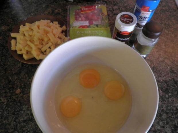 Lauchkuchen für Zwei ... - Rezept - Bild Nr. 6