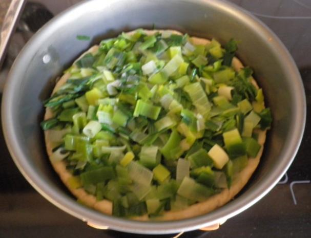 Lauchkuchen für Zwei ... - Rezept - Bild Nr. 8