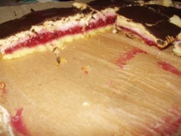 Himbeer-Vanille-Schnitten - Rezept