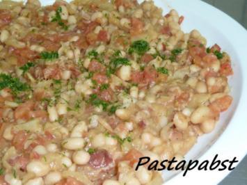 Rezept: Weiße Bohnen mit Fenchel und Pancetta