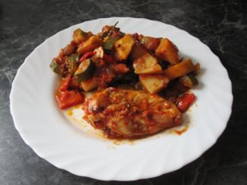 Hähnchen provenzalisch - Rezept