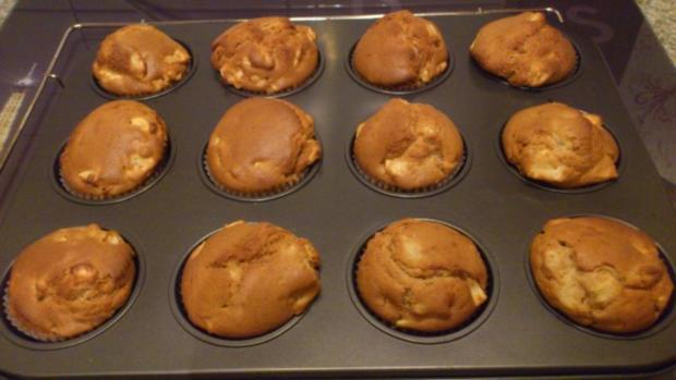 Apfel - Lebkuchen Muffins - Rezept