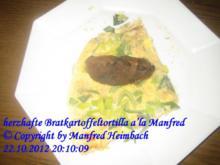Kartoffeln – herzhafte Bratkartoffeltortilla a'la Manfred - Rezept