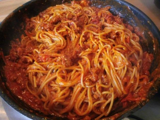 Spaghetti Bolognese-Pfanne - Rezept - Bild Nr. 6