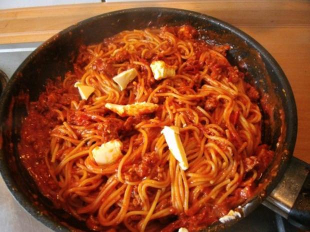 Spaghetti Bolognese-Pfanne - Rezept - Bild Nr. 7
