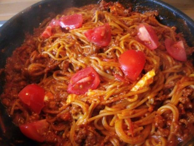 Spaghetti Bolognese-Pfanne - Rezept - Bild Nr. 8